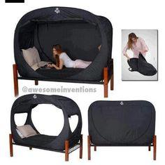 How cool is this?!  Only way to go camping!!  :)