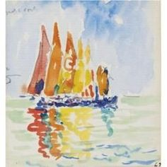 Water colour by Paul Signac  https://www.artexperiencenyc.com/social_login/?utm_source=pinterest_medium=pins_content=pinterest_pins_campaign=pinterest_initial