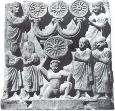 Triratna Gandhara Lucknow Museum