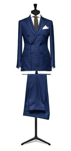Blue suit Sharkskin S110 http://www.tailormadelondon.com/shop/tailored-suit-fabric-4325-sharkskin-blue/