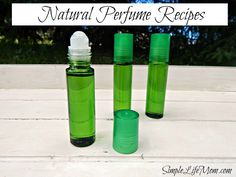 Make your own Homemade Perfume with essential oils. Make a solid perfume using essential oils and bees wax or a body spray with witch hazel and aloe vera.