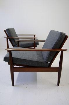 Danish midcentury armchairs