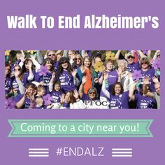 Help by participating in your local Walk to End Alzheimer's, an event that directly supports the Alzheimer's Association's initiatives of care, support, and research for the more than 5 million Americans living with the disease. Alzheimer's Walk, Walk To End Alzheimer's, Alzheimer's Association, Orland Park, Alzheimers, Caregiver, Walking, Blog, Ideas