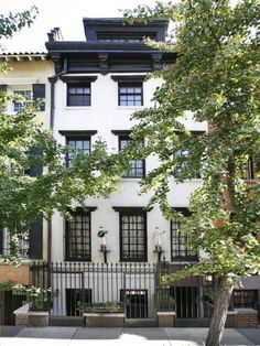 NYC townhouse.  If I had to live in the city, it would be here.