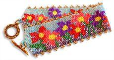 Bead Pattern - Traceys Garden Bracelet