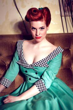 Eve rockabilly dress By TiCCi by TicciRockabilly on Etsy, $120.00