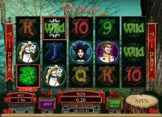 Slotspill Robyn - Mens du spiller Robyn kan du vinne free spins runder når Robyn logoen viser seg minst tre ganger hvor som helst på skjermen.