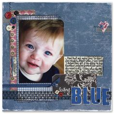 Feeling Blue - Scrapbook.com