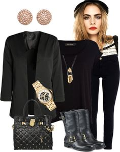 """""""With a Touch of Micheal Kors"""" by fashionwithaprize ❤ liked on Polyvore"""