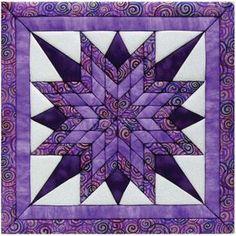 Starburst 12x12 Quilt Magic Kit (Starburst) (Fabric)