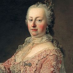Maria Theresa was an Austrian archduchess, and Holy Roman Empress of the Habsburg Dynasty from 1740 to 1780. She was also Marie Antoinette's mother.