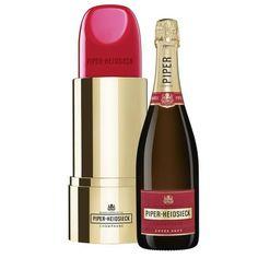Piper-Heidsieck Cuvee Brut Champagne Lipstick Gift 75cl | Moonpig Champagne Region, Champagne Taste, Vintage Champagne, Moet Chandon, Nutribullet, Pinot Noir, Peaky Blinders Gifts, Champagne Online, Gift Ideas