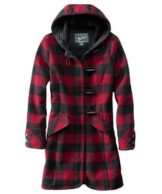 i absolutely love this plaid coat by woolrich!