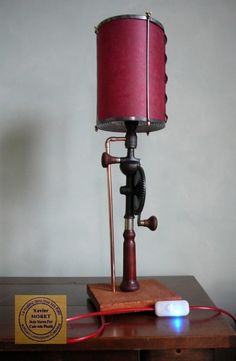 I love this lamp, but I use my manual drill.