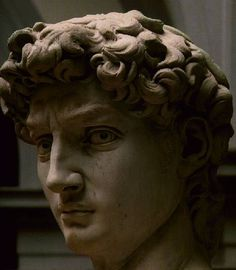 Michelangelo - close-up of David Statue of David