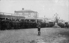 During the Waihi miners' strike