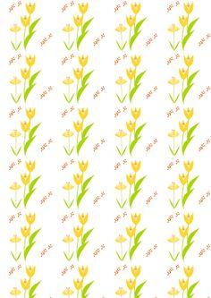 Free digital floral scrapbooking paper - ausdruckbares Geschenkpapier - freebie   MeinLilaPark – DIY printables and downloads