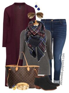 Fall Casual Outfit by alexawebb on Polyvore @Alexa Webb #plussize #plussizefashion #PolyvorePlus #outfit #alexawebb