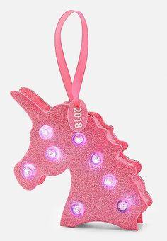 Unicorn Marquee Ornament | Justice