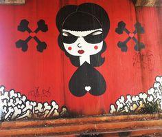 Seleção Hypeness: 15 mulheres brasileiras que arrasam na arte do graffiti