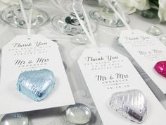 Thoughtful, meaningful and otherwise fabulous wedding favors. Wedding Favours Thank You, Homemade Wedding Favors, Chocolate Wedding Favors, Inexpensive Wedding Favors, Edible Wedding Favors, Wedding Shower Favors, Wedding Favors For Guests, Unique Wedding Favors, Wedding Lunch