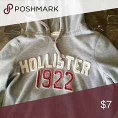 Hoodie Hollister hoodie. Good condition Hollister Tops Sweatshirts & Hoodies