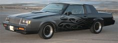 """83' Buick Regal """"Grand National """" clone... looks like a T-top."""