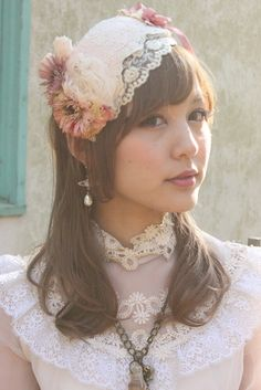 Dolly Kei Headpiece from Grimoire.
