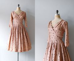 1950s party dress | via DearGolden