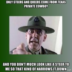Afbeeldingsresultaat voor in your face Military Quotes, Military Humor, Military Life, Myers Briggs Personalities, Myers Briggs Personality Types, Vladimir Putin, Full Metal Jacket Quotes, Veteran Memes, R Lee Ermey