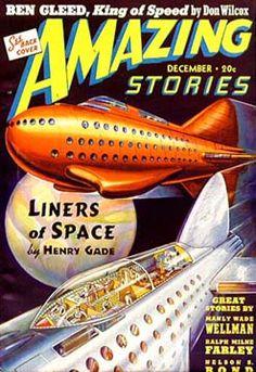 History of Amazing Stories Magazine and its publisher, Hugo Gernsback