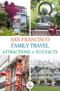 Discover 7 things to do in San Francisco with kids and learn some fun facts about each of these places. We've also included a few movies that were filmed here! San Francisco With Kids, San Francisco Travel, 7 Places, Places To Visit, Travel With Kids, Family Travel, Stuff To Do, Things To Do, California Camping