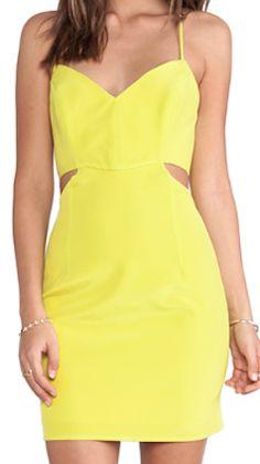 Stylish cutout dress