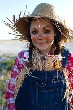 Scarecrow Halloween costume by mrs. sparkle