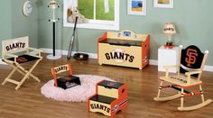 San Francisco Giants Kids Furniture