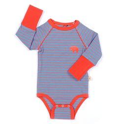 Blå/rød amine body fra alba baby