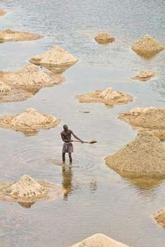Mining at Kono District, Sierra Leone | West Africa