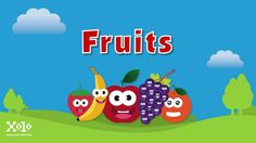 Video para niños de las frutas en ingles
