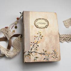 Guest Book Wedding Guest Book Wedding Guestbook, Unique Guestbook ideas, Guest Book for Wedding Shabby Chic. 8.5x6.5 inches. de SevenMemoriesBookArt en Etsy