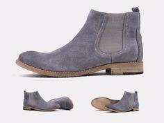 Original Suede Grey Chelsea Boots