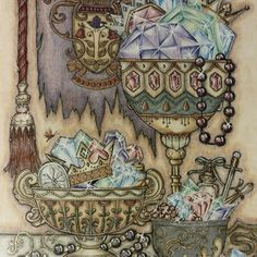 Image Result For Johanna Basford Ivy And The Inky Butterfly Coloured