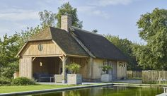 Cottage schuur en overdekt terras | Bogarden