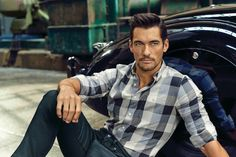 David Gandy for Mark and Spencers