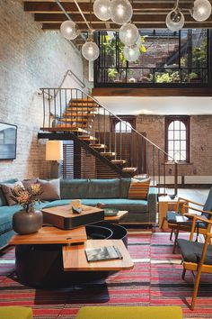 livingpursuit:  Tribeca Loft by Andrew Franz