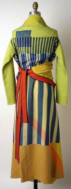 Issey Miyake F/W 1997 Met Collection. To me, this collection is reminiscent of Sonia Delaunay.