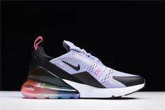 This Nike Air Max 270 Be True running shoes come in purple dawn 73d84b5ac