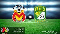 Morelia vs León, Liguilla del Clausura 2016 ¡En vivo por internet! - https://webadictos.com/2016/05/11/morelia-vs-leon-liguilla-clausura-2016/?utm_source=PN&utm_medium=Pinterest&utm_campaign=PN%2Bposts