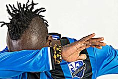 Fans react to the Montreal Impact jersey - Mount Royal Soccer Juliette, Montreal, Fans, Soccer, Dreadlocks, Hair Styles, Football, Dreads, Hair Looks