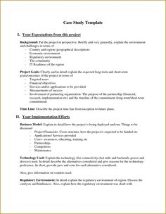 Individual Case Study  Case Study    Case Study
