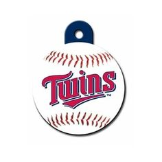It's baseball season! Love this Minnesota Twins Dog Tag for my pooch. @dogIDs has tons of sports tag for all baseball fans.